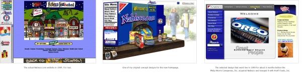 Nabisco.com Website Redesign